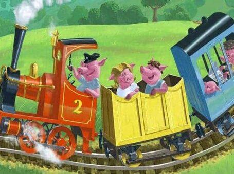 Παραμυθένιο τρένο