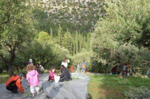 Βόλτα στη Μονή Καισαριανής