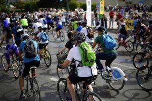 Ποδηλατικός γύρος της Αθήνας