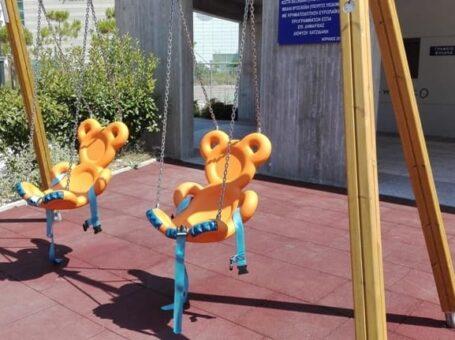 Παιδική χαρά ΑμΕΑ στο Φάληρο
