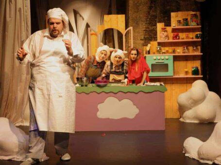 «Μια ζαχαρένια συνταγή» στο Θέατρο Φούρνος