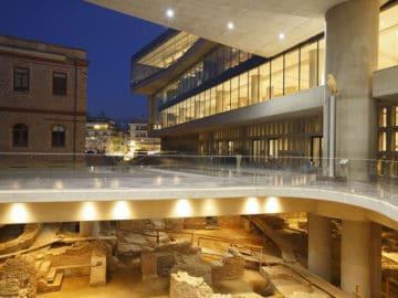 μια βραδιά στο μουσείο της Ακρόπολης