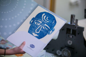 Μουσειοπαιδαγωγική δράση Χαράκτες εν δράσει στο Μουσείο Τηλεπικοινωνιών Ομίλου ΟΤΕ.