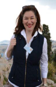 Η μουσειολόγος - μουσειοπαιδαγωγός Πόπη Γεωργοπούλου στο απογευματινό kids lab του KidsHub